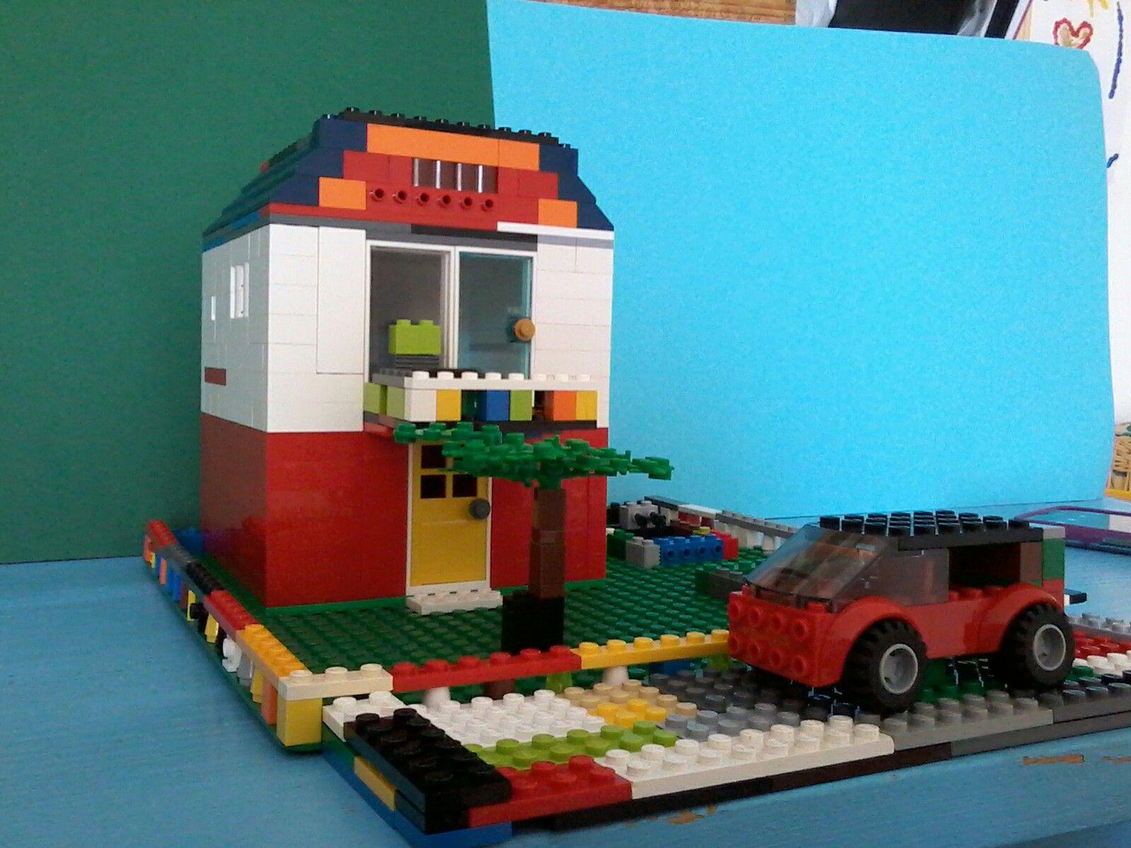 Lego Haus | Unsere Sachen | Pinterest