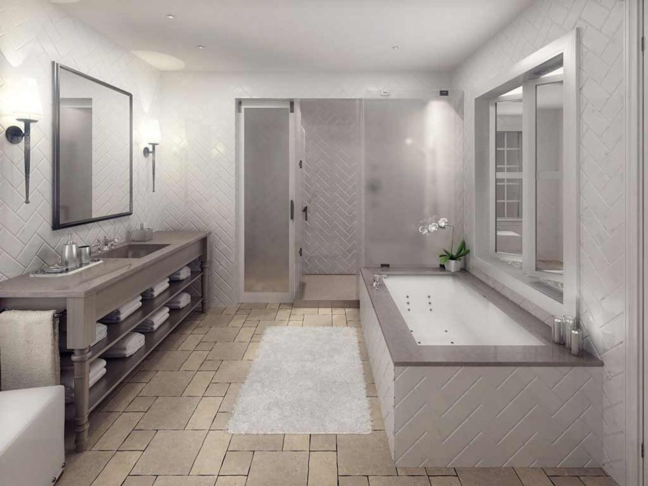 52 natural stone bathroom tile design  natural stone tile