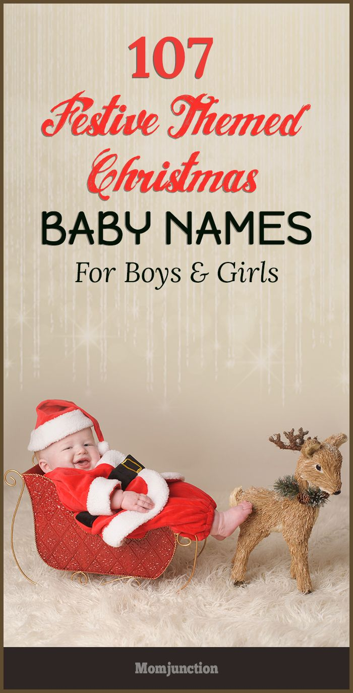 107 Festive Themed Christmas Baby Names For Boys And Girls | Boys ...