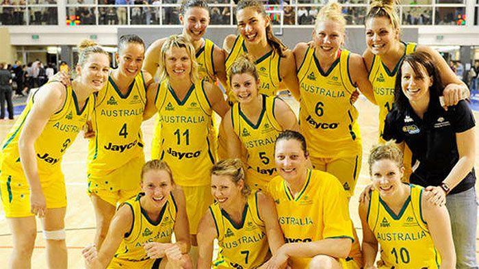#Australian women's Basketball team   Friends   Of   Jayco ...