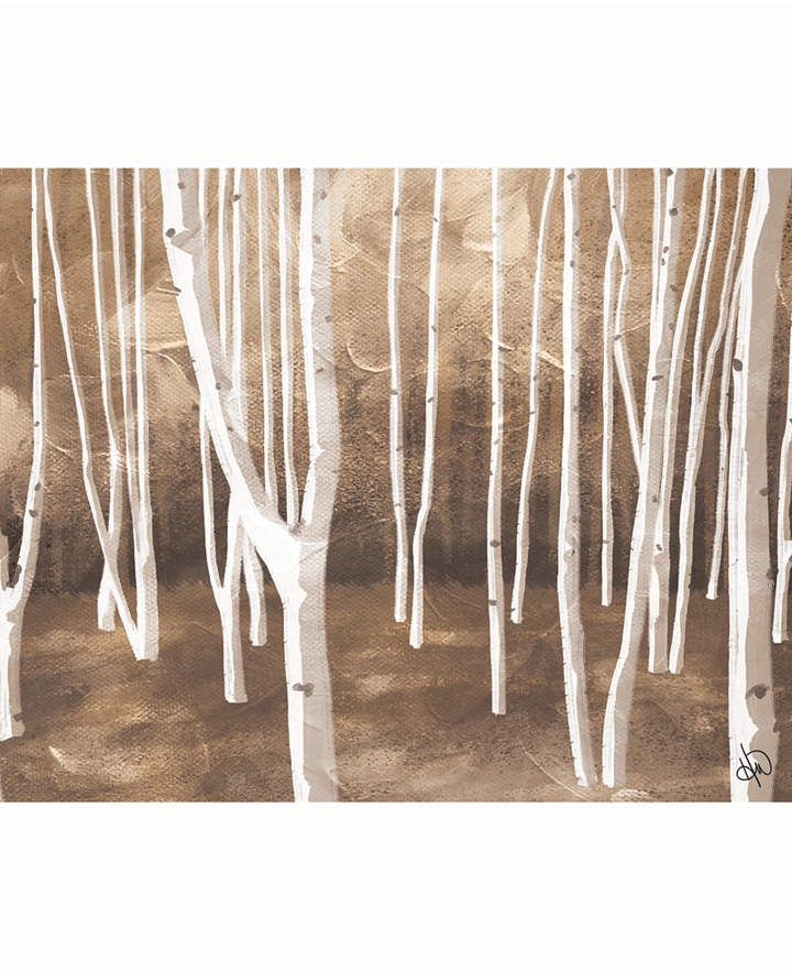 Creative Gallery Neutral Autumn Forest Abstract Landscape Portrait Metal Wall Art Print 20 X 24 Reviews All Wall Decor Home Decor Macy S