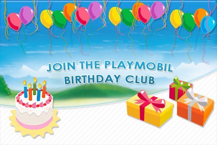 Free Playmobil Birthday Club Membership and Freebies