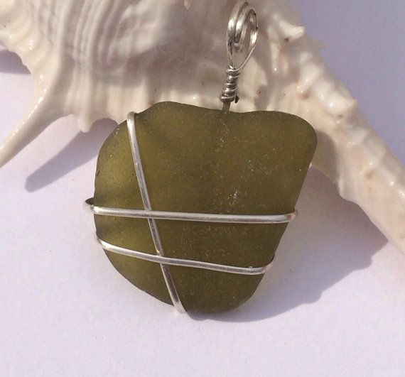 Olive Green sea dream rare olive green on Etsy,