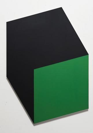 "Ellsworth Kelly's ""Green Black,"" 1968, oil on canvas"