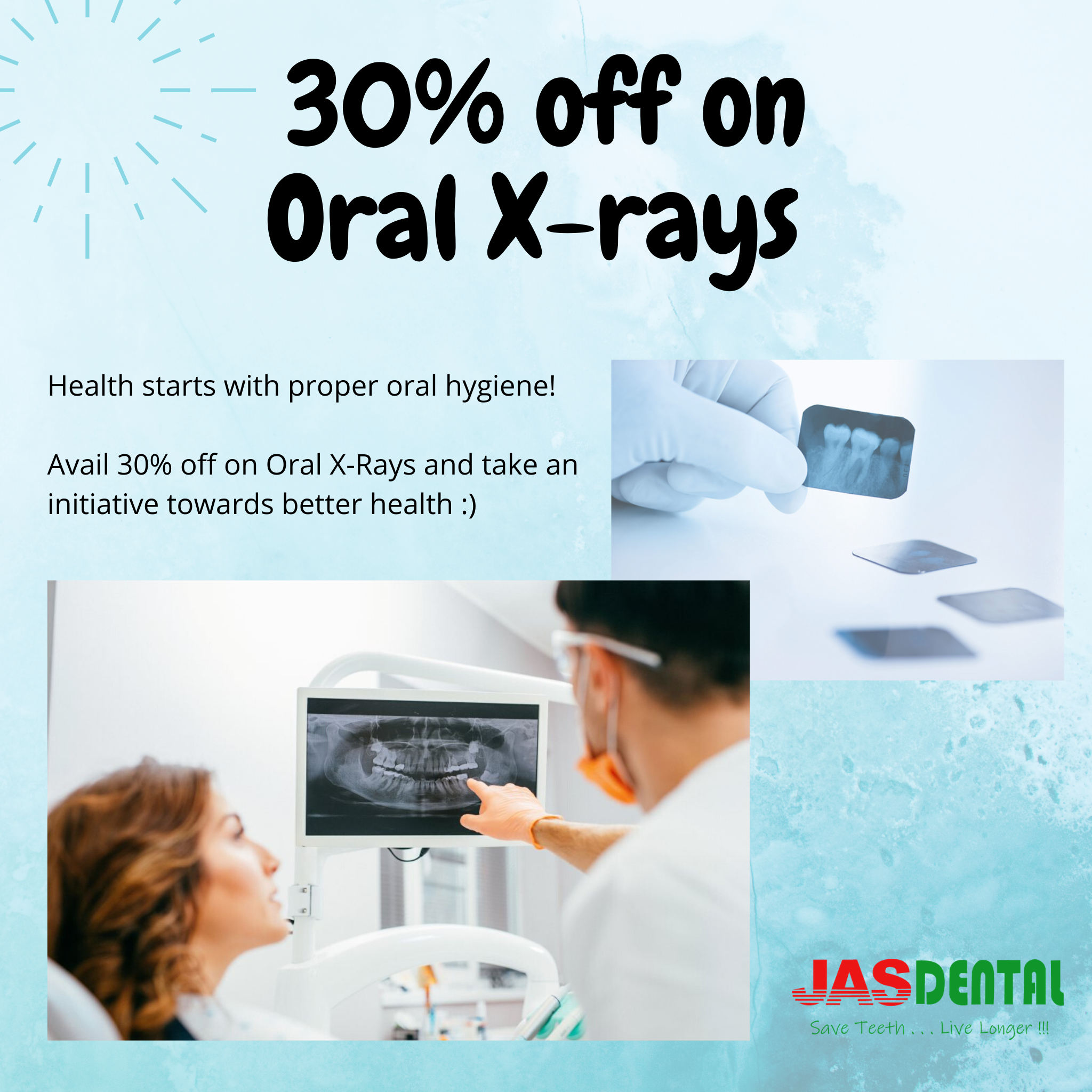 30% Off On 🦷Oral X-Rays In 2020