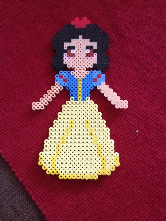 Snow White from Disney perler beads by KcranceArt