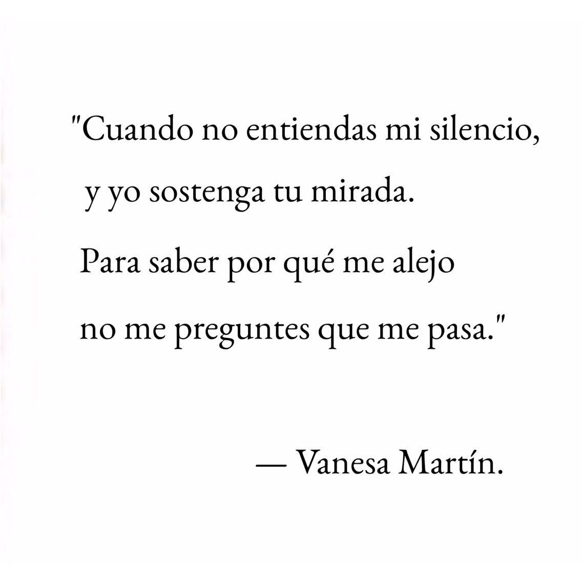 Vanesa Martin Vanesa Martín Frases Vanesa Martin Y Frases