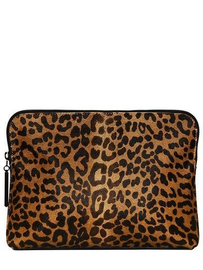3.1 Phillip Lim - leopard print ponyskin bag  d1c63306b3182