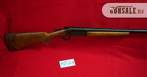 LOT# 38;	MAKE-Stevens; MODEL-94F; ACTION-Single Shot; CALIBER-16 gauge; 2 3/4 Inch - USA