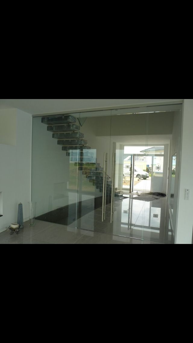 glastür flur | glastür wohnzimmer, schiebetür glas und