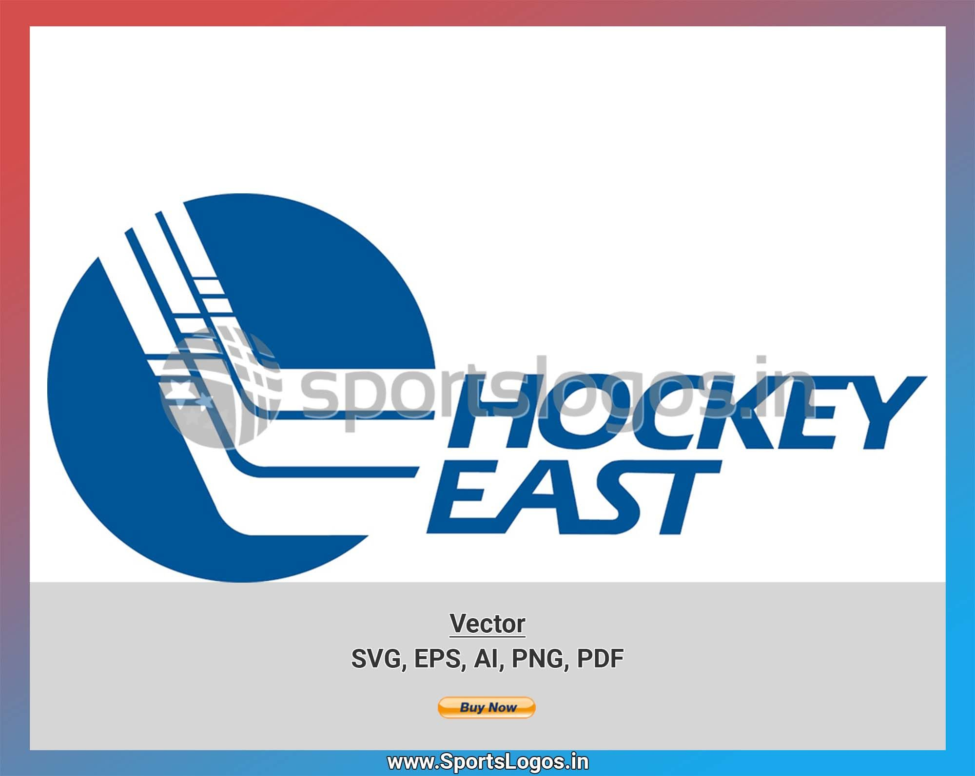 Hockey East College Sports Vector Svg Logo In 5 Formats Spln001859 In 2020 Vector Svg College Sports Sports Logo