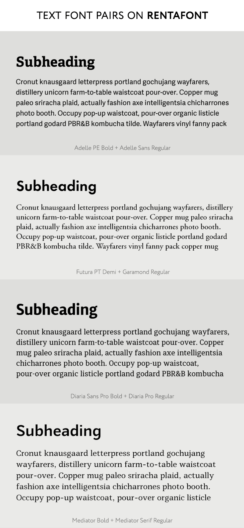 How to Find Ideal Font Pairs for Logos, Headings