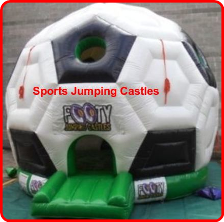 We Offer #Sports #Jumping #Castles Services at Lowest Prices, So let's Hurry, Limited Offers. http://www.footyjumpingcastles.com.au/