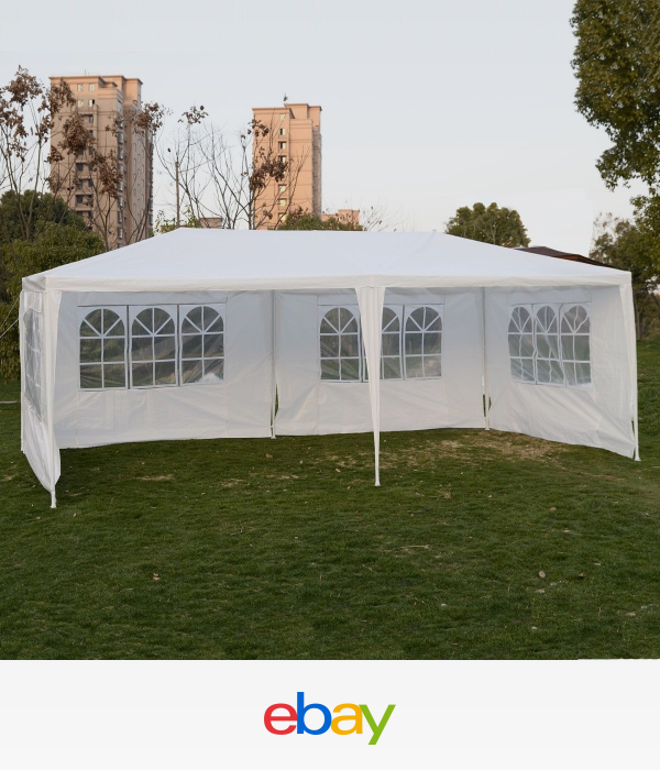 Details About Outdoor 10 X20 Canopy Party Wedding Tent Gazebo Pavilion Cater Events 4 Sidewall Patio Tents Gazebo Heavy Duty Gazebo