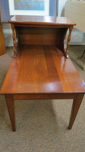 Pair Of Vintage Antique Solid Cherry Willett End Tables Willett