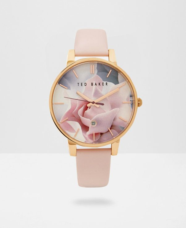 9c6ba01586ed Porcelain Rose dial watch