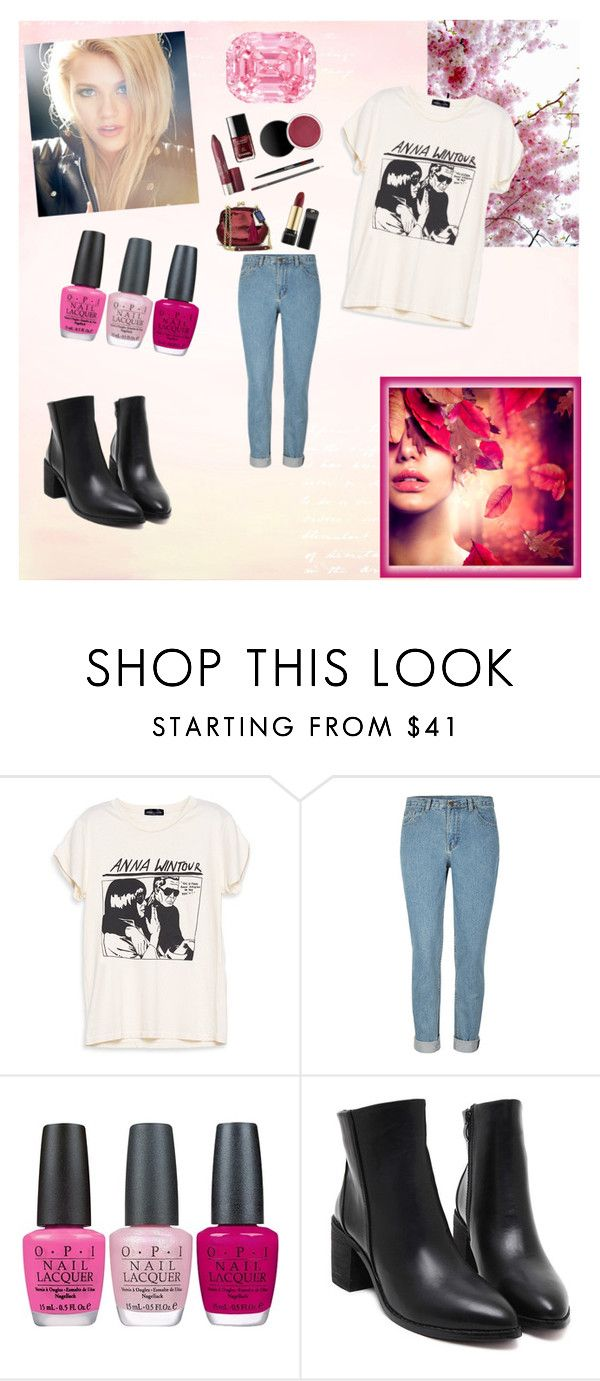 """""""Untitled #4"""" by samirasamka ❤ liked on Polyvore featuring OPI"""