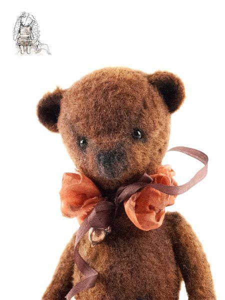 COCONUT TEDDY BEAR by Liudmyla Biloshapka | Teddy bear ...