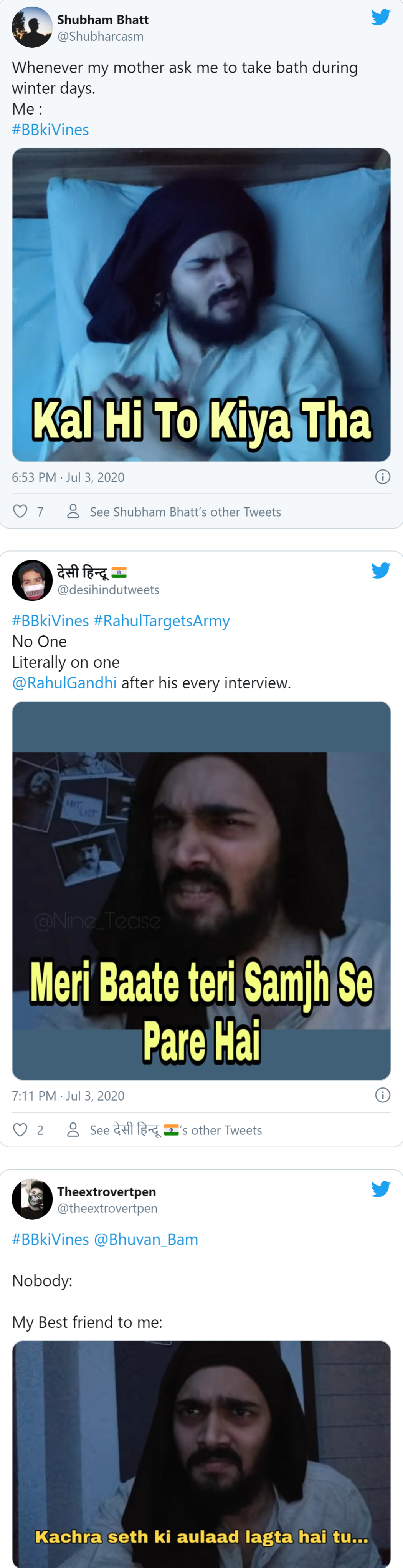 Sameer Vs Hola Bhuvan Bam S Video Loved By His Fans Netizens Comes Up With Bbkivines Memes Very Funny Memes Funny Memes Images Funny School Memes Browse the user profile and get inspired. very funny memes funny memes images