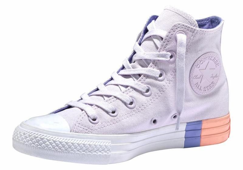 CONVERSE Chuck Taylor All Star Hi Sneakers in lila bei ABOUT