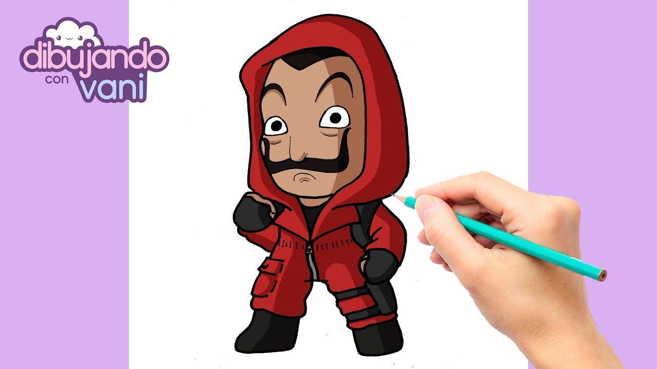 Como Dibujar Skin De La Casa De Papel Free Fire Dibujos De Free Fire Kawaii Disney Las Casas De Papel Dibujos Faciles Para Ninos