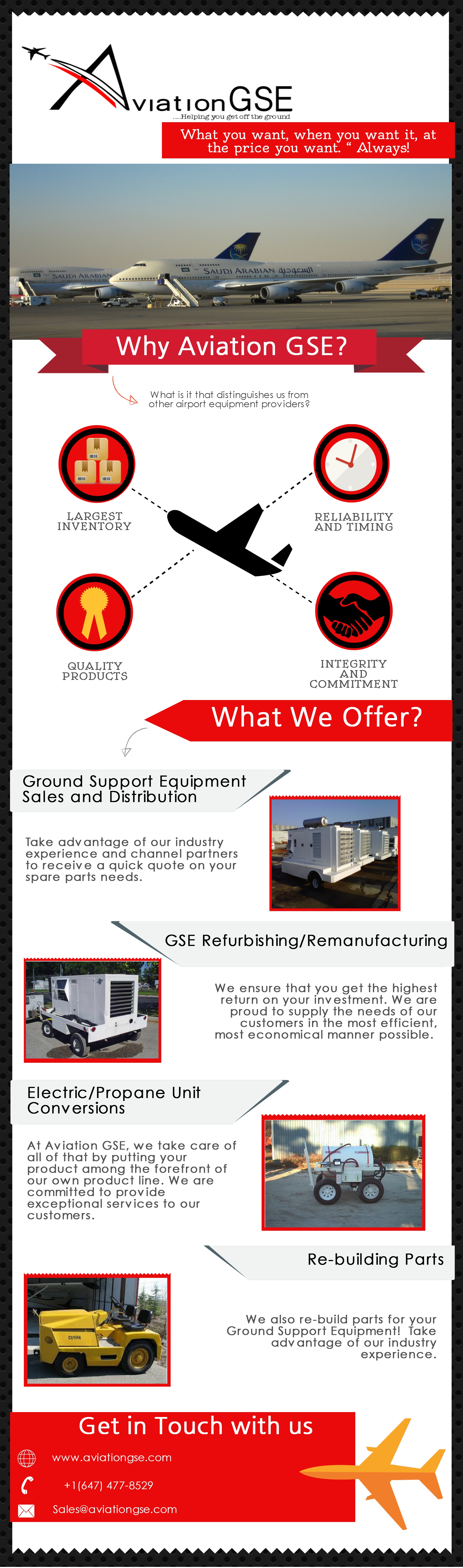 We buy, sell, rent, lease and provide parts for ALL your Ground ...