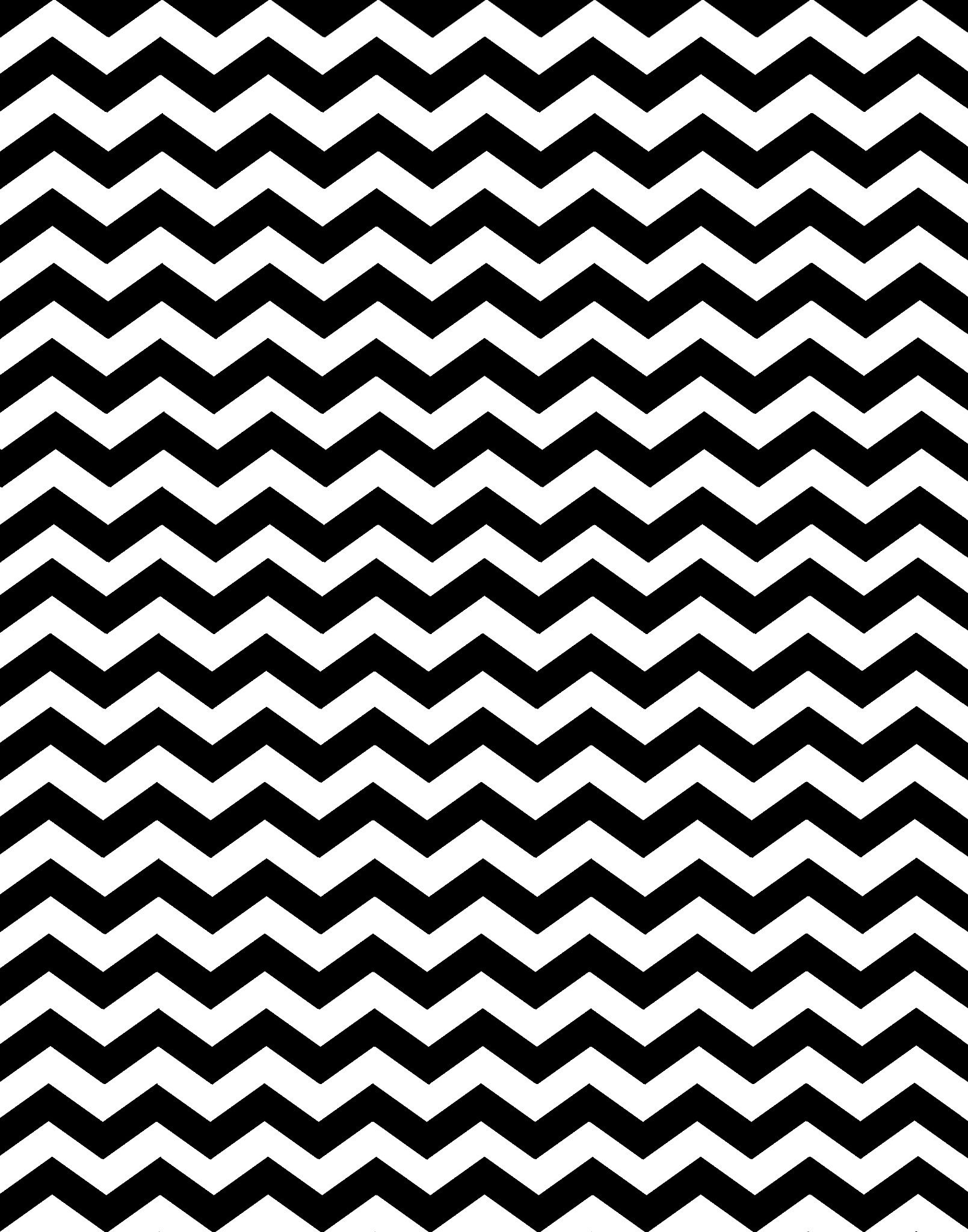 Hilaire image in printable chevron pattern