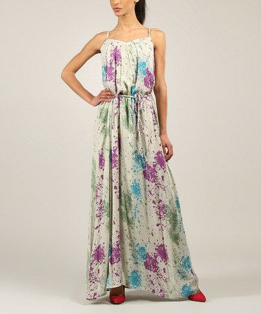 733bdfeb38 This Blue   Purple Splatter Maxi Dress is perfect!  zulilyfinds. Another  great find on  zulily!