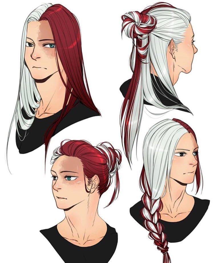Last Night Todobakudeku In 2020 How To Draw Hair Hero Long Hair Drawing
