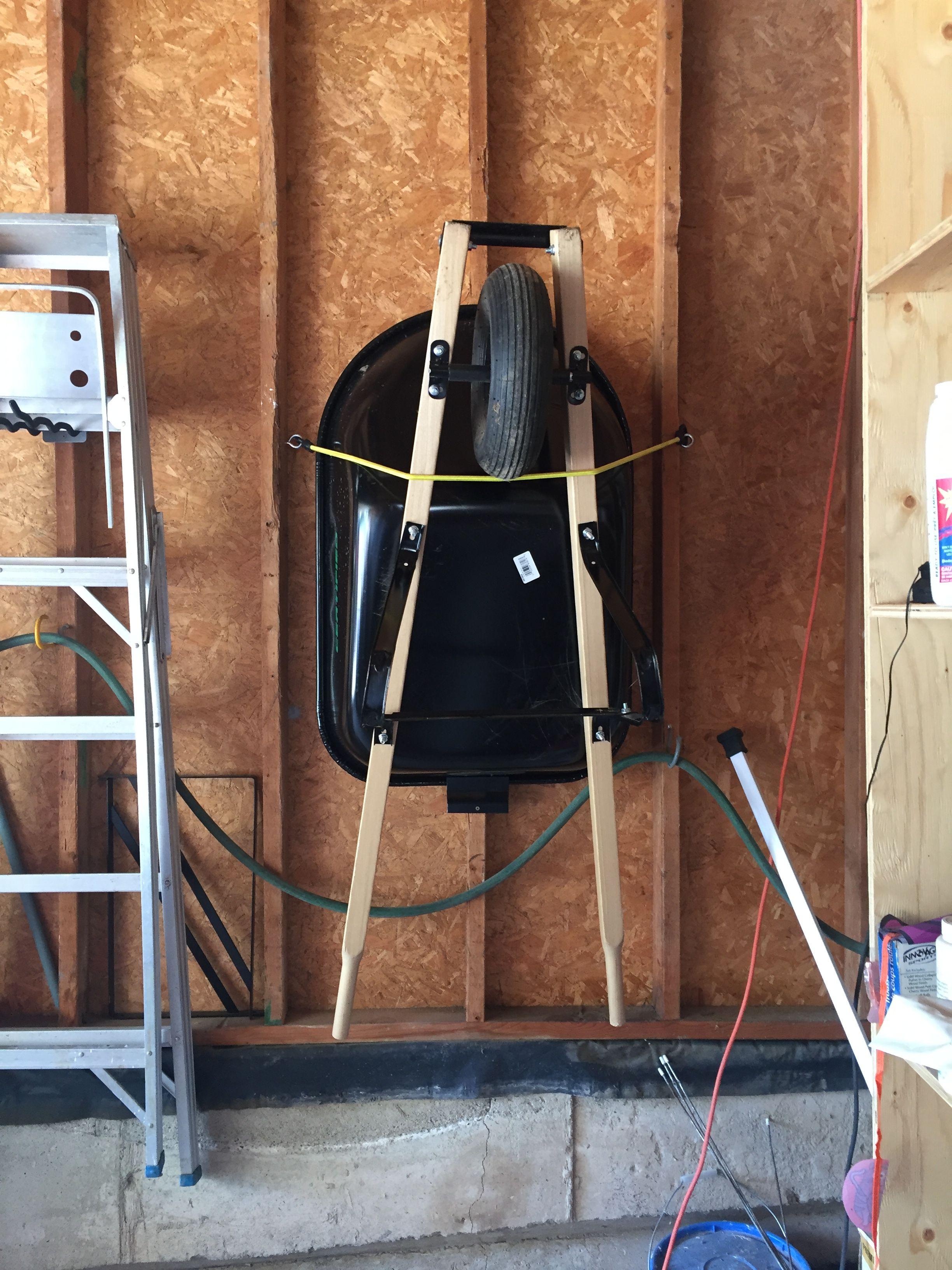 Wheelbarrow Storage With Images Wheelbarrow Storage Home