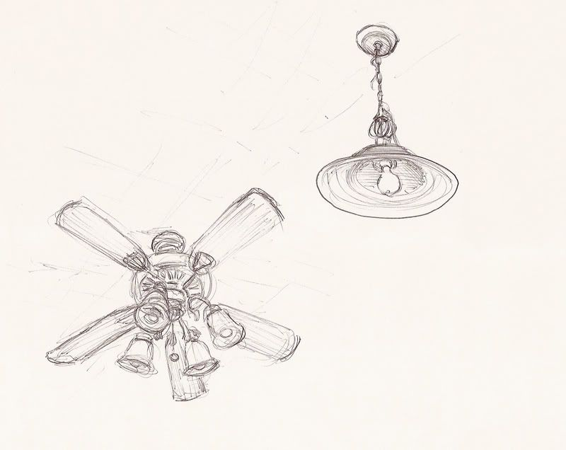 one point perspective ceiling fan sketch template one point perspective point perspective ceiling fan one point perspective ceiling fan