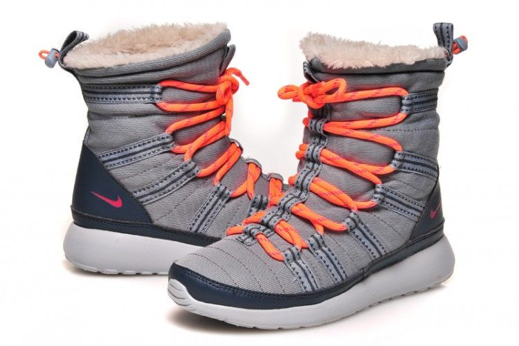 online store 6d45f 386e5 Nike Roshe One Hi Print Femme Sneakerboot