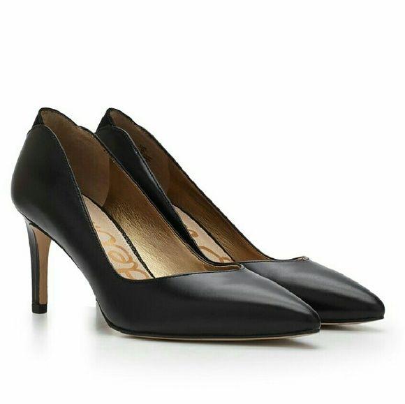 7c0040516 Sam Edelman ORELLA Black Leather Heel Pumps Sam Edelman ORELLA black leather  pumps! Have a