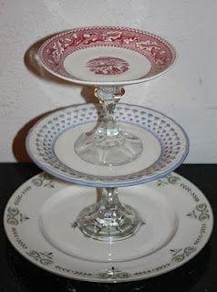 Thrift shop cake / cookie plate craft-ideas & Thrift shop cake / cookie plate craft-ideas | DIY | Pinterest ...