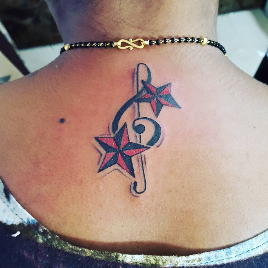 62eb17d02 #tattoo #star #music #note #love #girl #kudi #punjab #punjabi #phagwara  #jatt #jatti