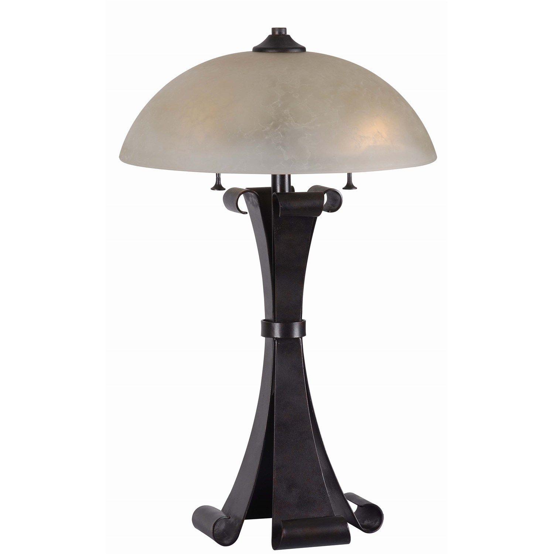 Home 32308chc alighto 2 light table lamp in chocolate caramel kenroy home 32308chc alighto 2 light table lamp in chocolate caramel aloadofball Images
