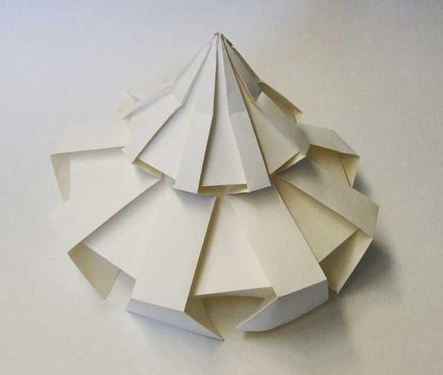 Temple of heaven 3d origami by jun mitani paper crafts for How to make paper temple