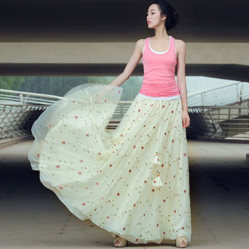 Maxi Skirt Fashion
