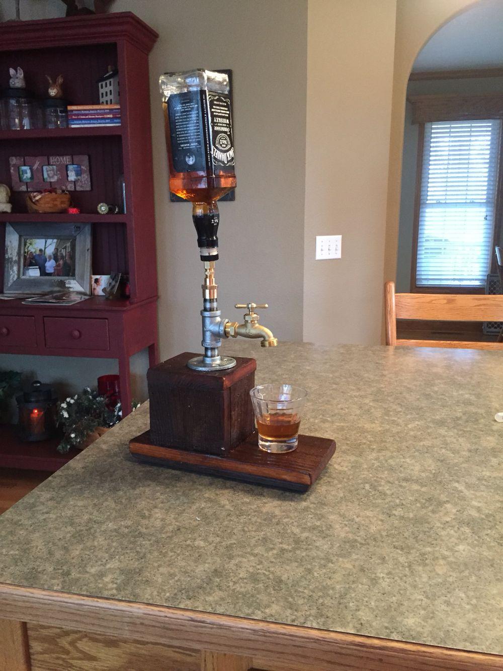DIY whiskey Dispenser | Man cave | Pinterest | Whiskey dispenser ...