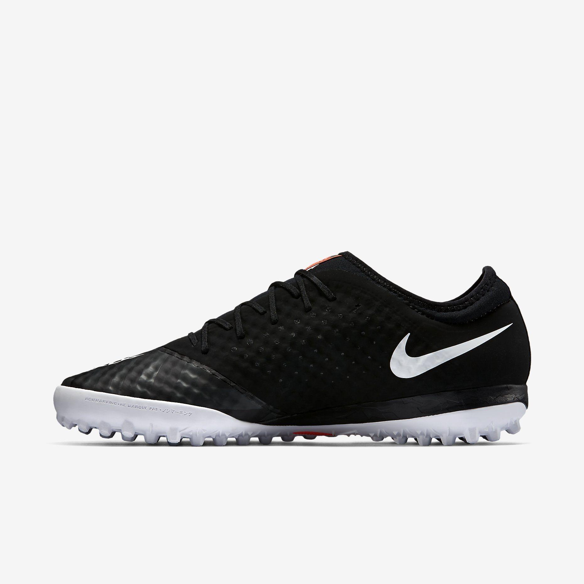 New Look Nike Indoor Football Shoes Mercurialx Finale Street Black Orange A40e5830