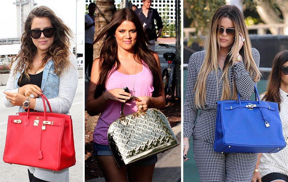 The Many Bags of Khloe Kardashian | Khloe kardashian ...