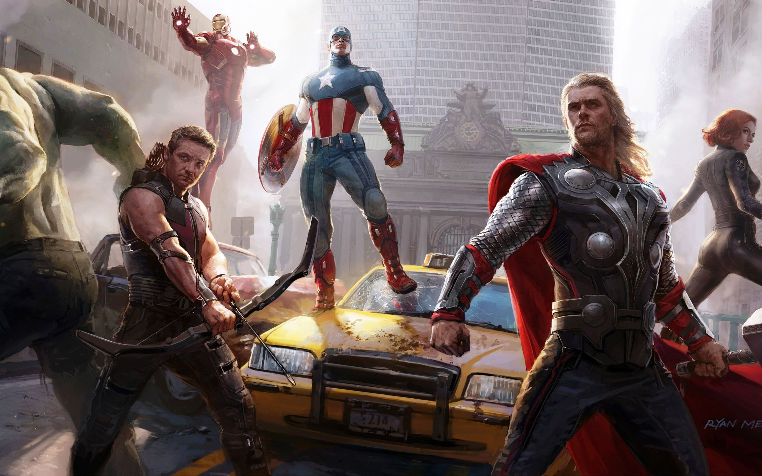 The Avengers Characters - Marvel HD Wallpaper