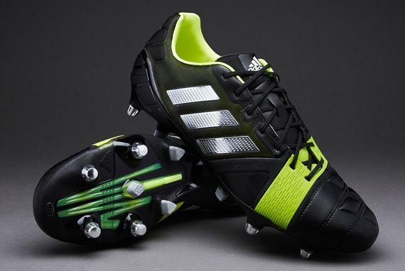 d082d2badbd3 adidas Rugby Boots - adidas Nitrocharge 1-0 XTRX SG - Soft Ground -  Black-Metallic Silver-Electricity