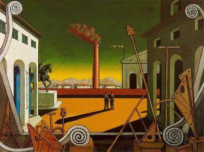 Llámpara. Patrimonio Industrial: Miradas de Arte y Patrimonio Industrial: Giorgio de Chirico