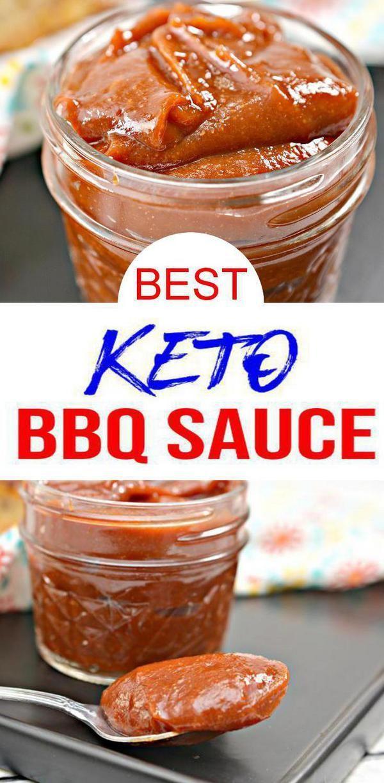 BEST Keto BBQ Sauce! Low Carb Keto BBQ Sauce Homemade Idea