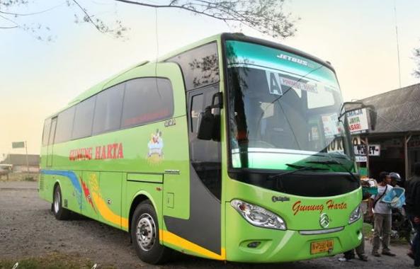 Daftar Harga Tiket Bus Gunung Harta Keberangkatan