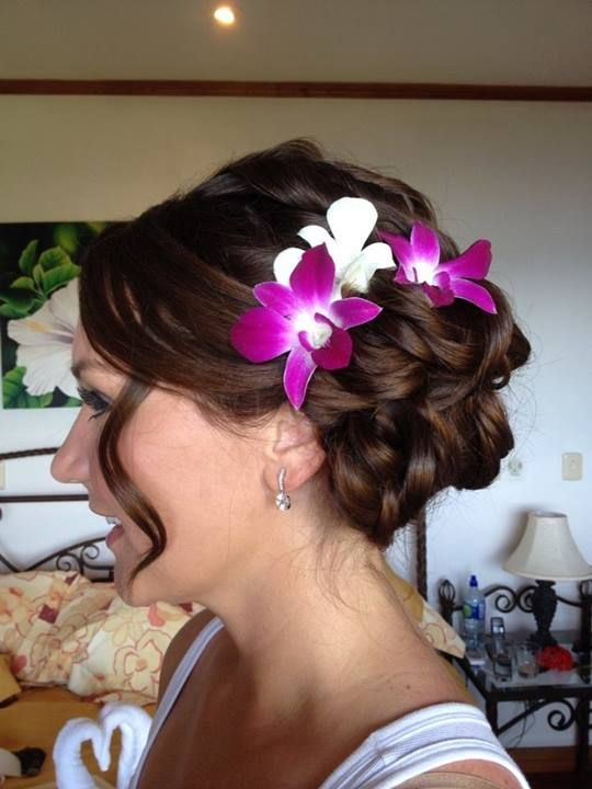 By Monica Costa Rica Hair Makeup Wedding Hairstyles Her Hair