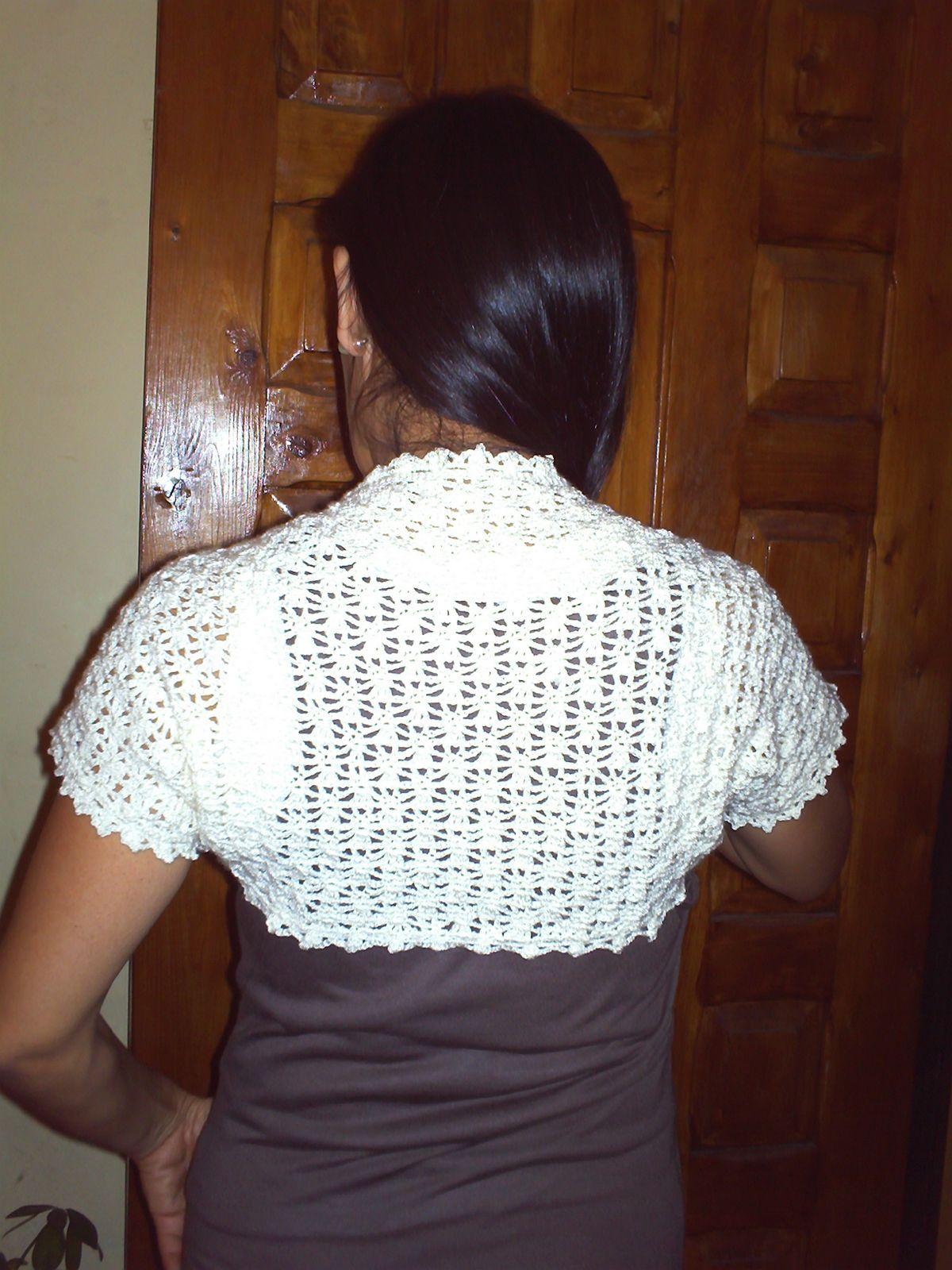 Muestras De Tejidos a Crochet | Boleros tejidos a crochet | CROCHET ...