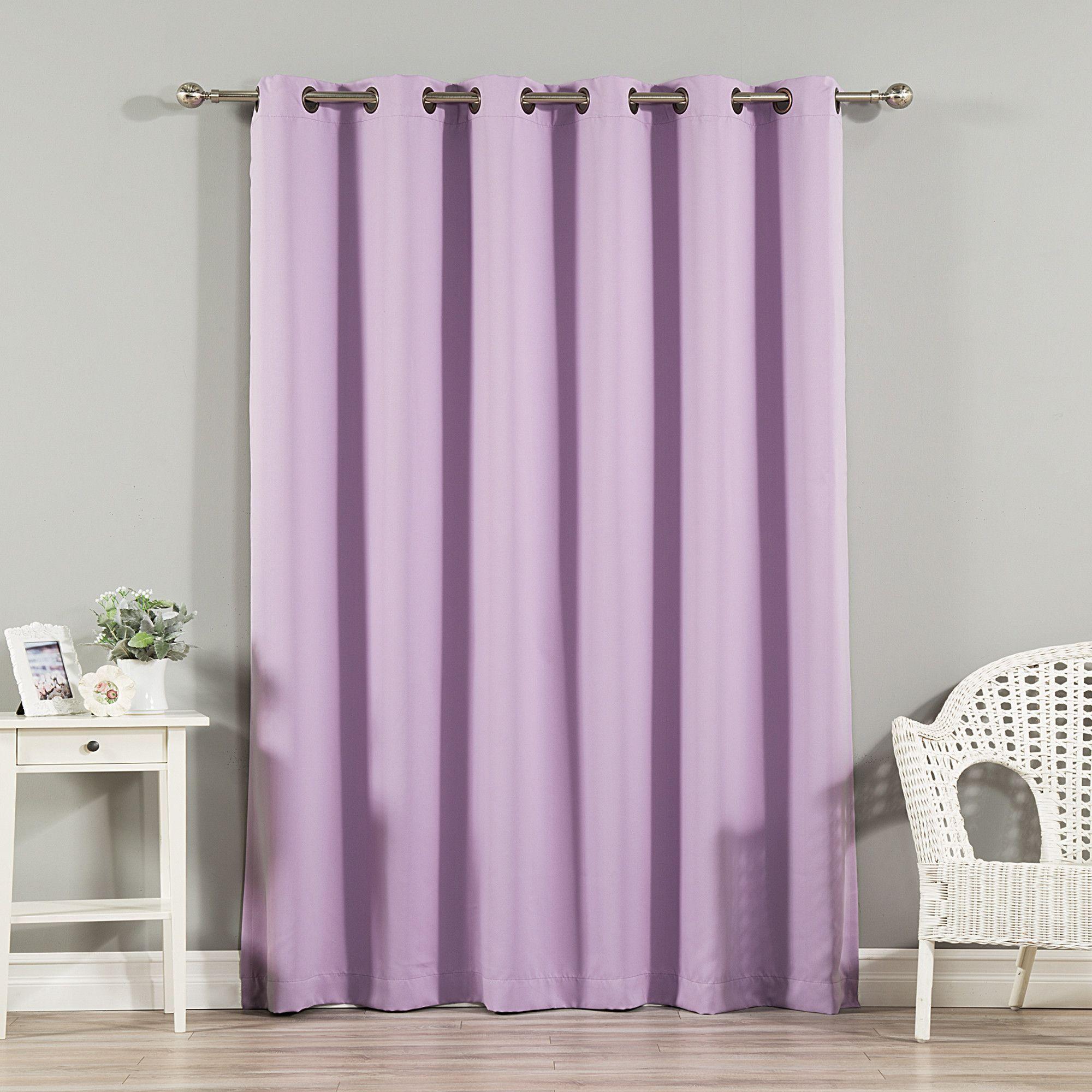 Blackout Single Curtain Panel