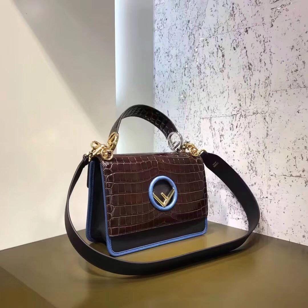 44551e78292e Fendi KAN I F Exotic multicolor leather bag 2 - Bella Vita Moda #fendi  #fencilover #baglover #fendipeekaboo #fendibag #bagforsale #baglover  #fashionista